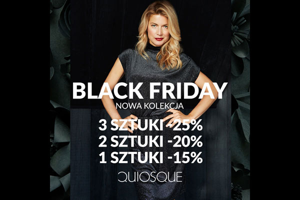 QUIOSQUE - Black Friday