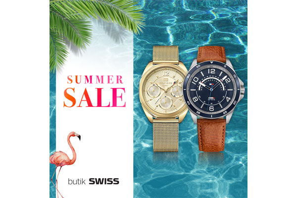 SUMMER SALE w butikach SWISS